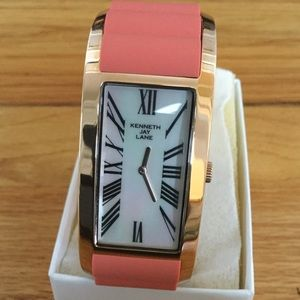 Kenneth Jay Lane Bracelet Watch